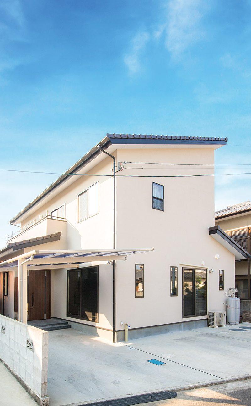 動線が育む2世帯住宅の家